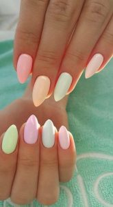 gel pastel shades