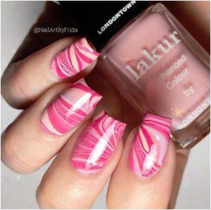 fiberglass swirling pink