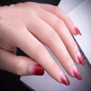 fiberglass red ombre style