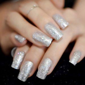 fiberglass silver glitter