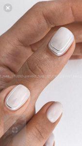 minimal white chrome