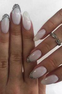 round milky white stones
