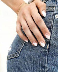 white clear minimalist