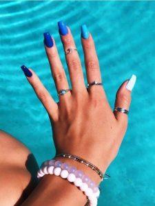 summer shades of blue