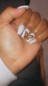 short butterfly half