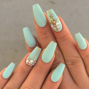 minty teal glam