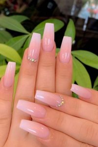 classy clear stones