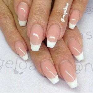 short coffin french tip