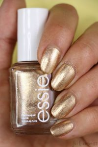 summer gold polish