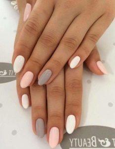 white grey pink summertime