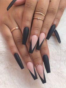 long matte black vtip