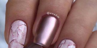 mauve metallic stripe