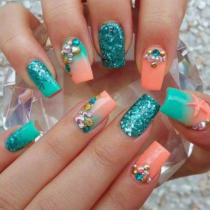 under the sea teal