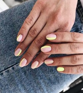2020 pastel yellow