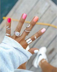 2020 pink tones