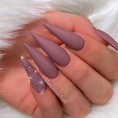 mauve pinky glitter