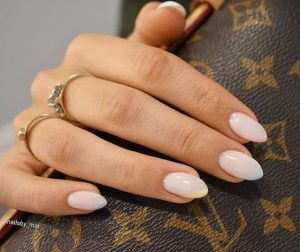 classy pastel ends