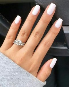 classy solid white