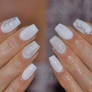 glam in white short