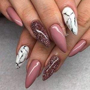 mauve and marble white pop