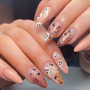 halloween glitter design
