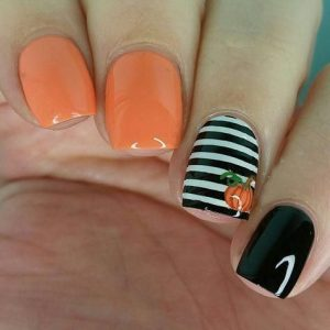 halloween striping