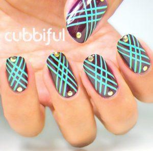 pattern nail deco