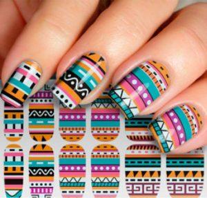 pattern aztec pink