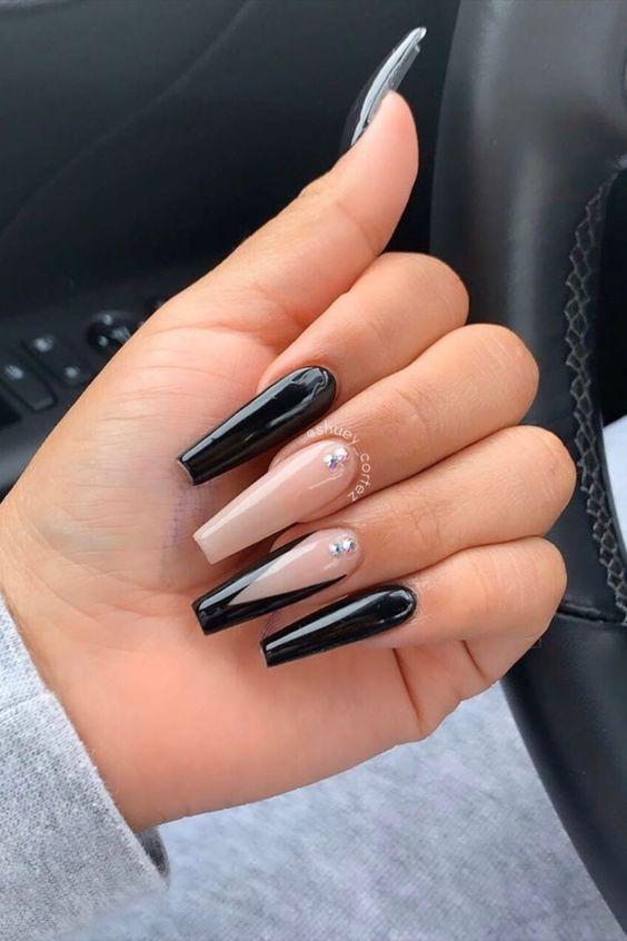 Long Acrylic Nails Acrylic nails coffin are incredibly beautiful. long acrylic nails