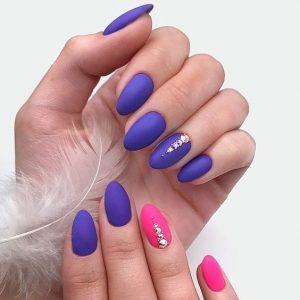 purple pink bright