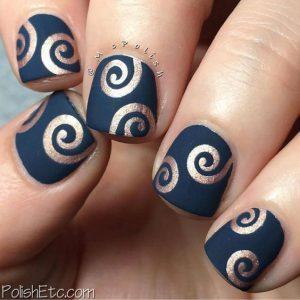 matte metallic pattern